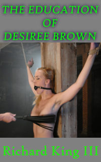 cover design for the book entitled The Education Of Desiree Brown