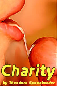 cover design for the book entitled Charity