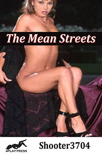 cover design for the book entitled The Mean Streets