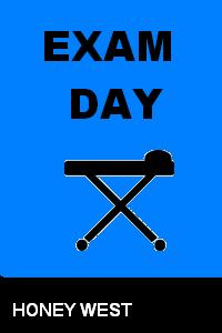 cover design for the book entitled Exam Day