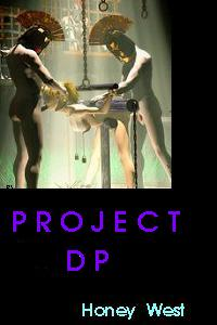 cover design for the book entitled Project Dp
