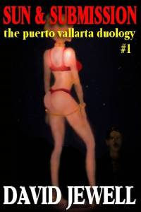 cover design for the book entitled Sun And Submission [the Puerto Vallarta Duology #1]