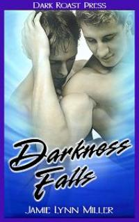 cover design for the book entitled Darkness Falls