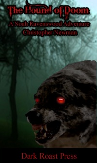 cover design for the book entitled The Hound Of Doom