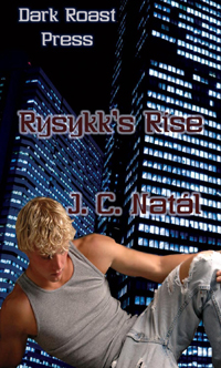 cover design for the book entitled Rysykk's Rise