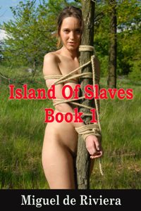 cover design for the book entitled Island Of Slaves