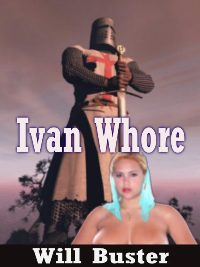 cover design for the book entitled Ivan Whore