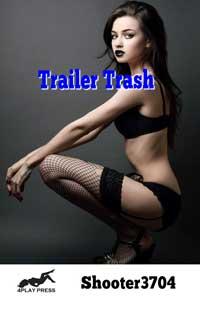 cover design for the book entitled Trailer Trash