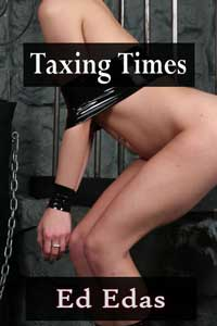 cover design for the book entitled Taxing Times