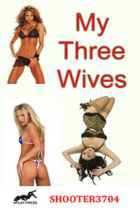 cover design for the book entitled My Three Wives