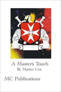 cover design for the book entitled A Master