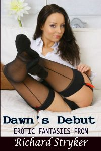 cover design for the book entitled Dawn`s Debut