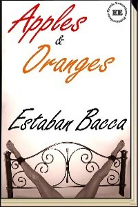 cover design for the book entitled Apples And Oranges