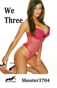 cover design for the book entitled We Three