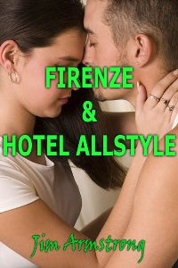 cover design for the book entitled Firenze & Hotel Allstyle