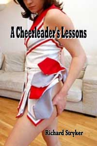 cover design for the book entitled A Cheerleader`s Lessons
