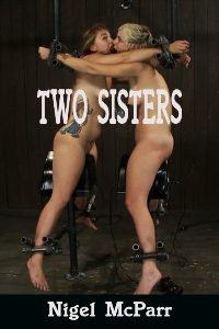 cover design for the book entitled Two Sisters