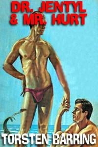 cover design for the book entitled Dr. Jentyl And Mr. Hurt: A Novel Of Gay Male Bondage