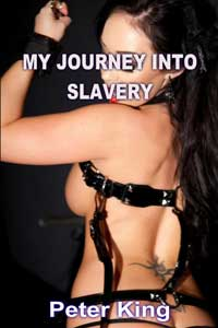 cover design for the book entitled My Journey Into Slavery