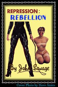 cover design for the book entitled Repression 2 - Rebellion