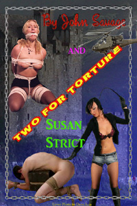 cover design for the book entitled Two For Torture