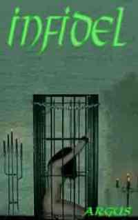 cover design for the book entitled Infidel