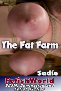 cover design for the book entitled The Fat Farm