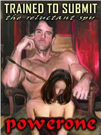 cover design for the book entitled Trained To Submit