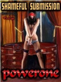 cover design for the book entitled Shameful Submission