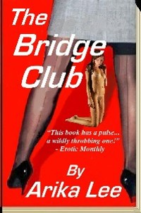 cover design for the book entitled The Bridge Club