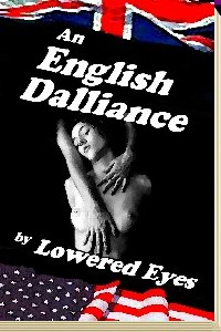 cover design for the book entitled An English Dalliance