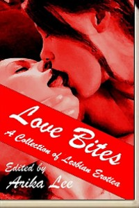cover design for the book entitled Love Bites