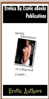 cover design for the book entitled Swing Adventures Of A Married Couple