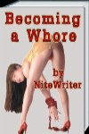 cover design for the book entitled Becoming A Whore
