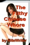 cover design for the book entitled The Filthy Chinese Whore