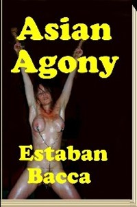 cover design for the book entitled Asian Agony