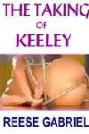 cover design for the book entitled The Taking Of Keeley