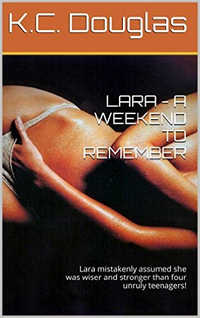 cover design for the book entitled Lara - A Weekend to Remember