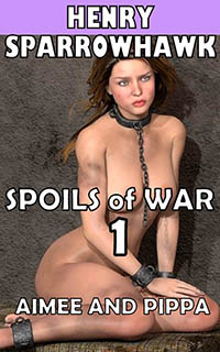 cover design for the book entitled Spoils of War Episode 1: Aimee and Pippa