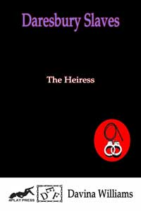 cover design for the book entitled The Heiress