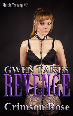 cover design for the book entitled Gwen takes Revenge