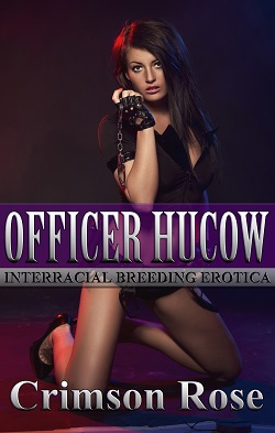 cover design for the book entitled Officer Hucow