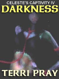 cover design for the book entitled Darkness [Celeste