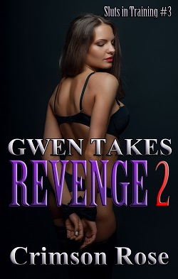 cover design for the book entitled Gwen takes Revenge 2
