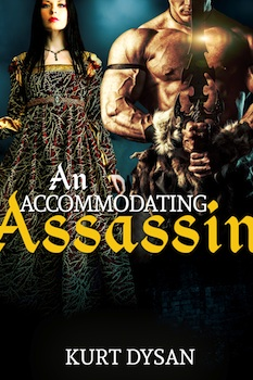cover design for the book entitled An Accommodating Assassin