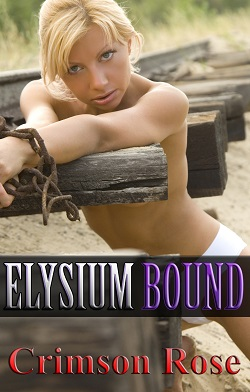 cover design for the book entitled Elysium Bound