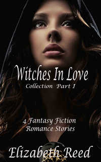cover design for the book entitled The Witches in Love Collection