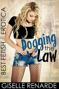 cover design for the book entitled Dogging the Law