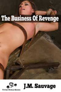 cover design for the book entitled The Business of Revenge