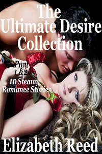 cover design for the book entitled Ultimate Desire Collection Part 1 & 2